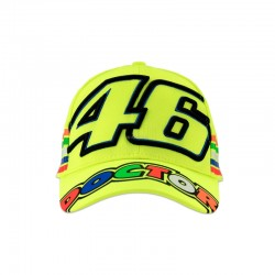 VR 46 MAN'S HAT FLUO YELLOW...