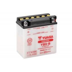 Batteria YB9-B senza Acido