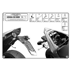 GIVI 1101KIT kit di montaggio