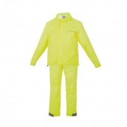 Suit jacket and rain pants...