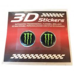 three-dimensional sticker...