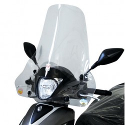 Windshield with fitting kit...