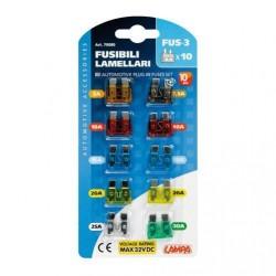 LAMPA Set 10 fusibili...