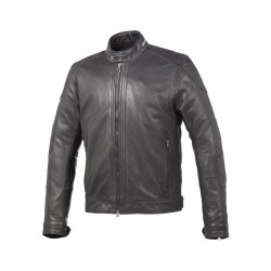 Jacket in genuine leather...