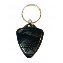 GLITTER keychain in YAMAHA...