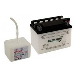 Battery Elektra YB9-B acid