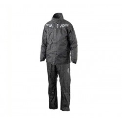 Rain suit ridertech black...