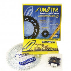 CROWN CHAIN KIT AND PINION...