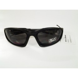 SUNGLASSES BLACK FRAME SILVER