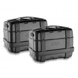 Pair of Black Suitcases 46...