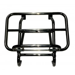 Vespa Black front carrier