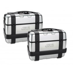 PAIR SIDE SUITCASES GIVI...