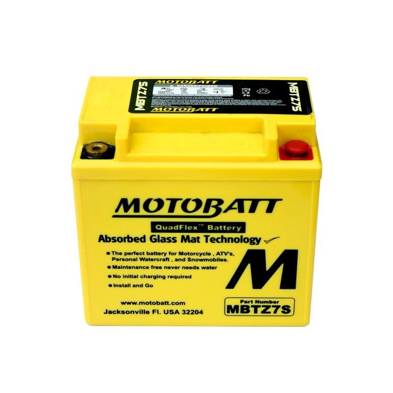 MBTZ7S BATTERIA MOTOBATT YTX5L-BS AGM E06033 YTX5LBS MOTO SCOOTER QUAD CROSS