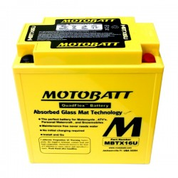 MBTX16U upgraded battery...