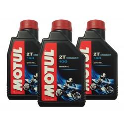 3  Liters Motul 100 2T...