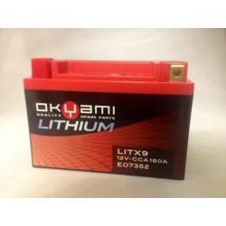 Batteria Litio LITX9 =...