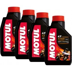 4 Bottiglie Olio Motore...
