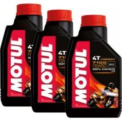 3 Bottiglie Olio Motore...
