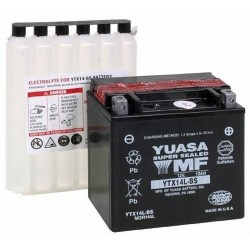 Battery YTX14L-BS YTX14LBS...