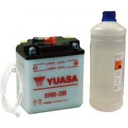 Battery 6N6-3B 6N63B + 1lt...