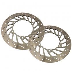 Pair Brake Disks Front