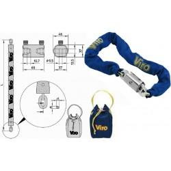 Chain lock with Padlock...