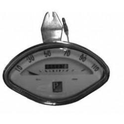 Odometer White Vespa