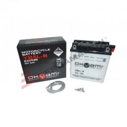 Batteria YB5L-B con acido a...