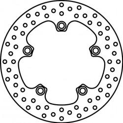 Brake Disk Rear 68B40785