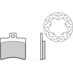 Brake Disk Rear 68B40777 +...