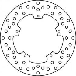 Brake Disk Rear 68B40777