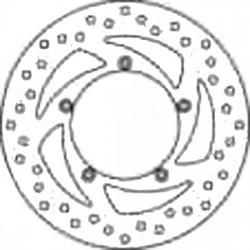 Brake Disc Front - DR045