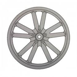 Wheel rim Rear Alloy WR107S