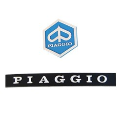 Plate and Shield Piaggio...