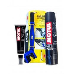 Kit clean lubricate chain...