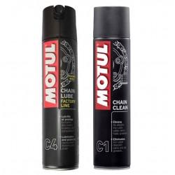 Clean kit for Motul chain...
