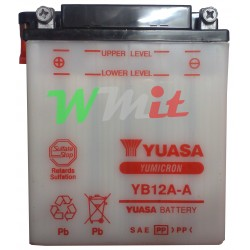 Battery YB12A-A + Acid with...