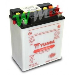 Battery YB14-A2 with Yuasa...