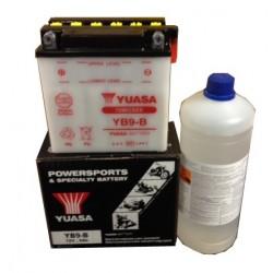Battery YB9-B + Acid with...