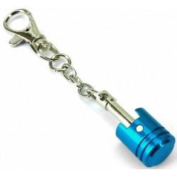 Keytag Keychain Piston Blue