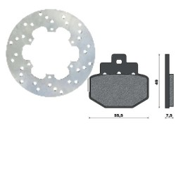 Kit Disc and Brake Pads for...