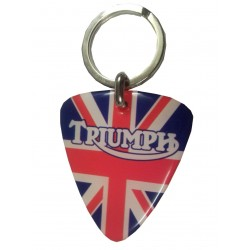 Keychain resin Triumph Red...