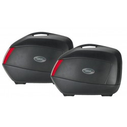 GIVI PAIR OF SIDE SUITCASES...