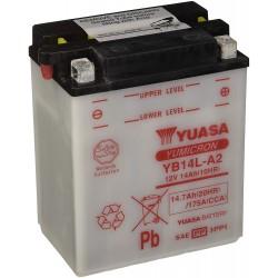 Battery YB14L-A2 YB14LA2 Yuasa