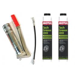 Manual pump + 2 packs of...