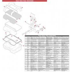 SISTEMA DI SGANCIO COMPLETO OBK58 GIVI Z8025R