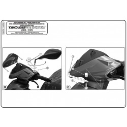 A440A windshield-specific...