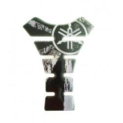 Tank Pad Yamaha Black White