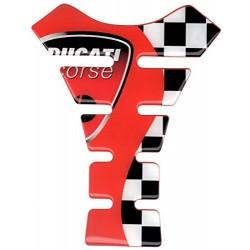 Paraserbatoio Ducati Rosso...