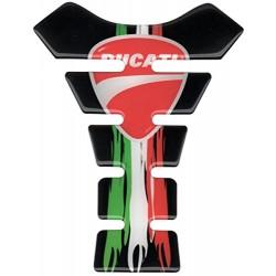 Tank Pad Ducati Black Italy